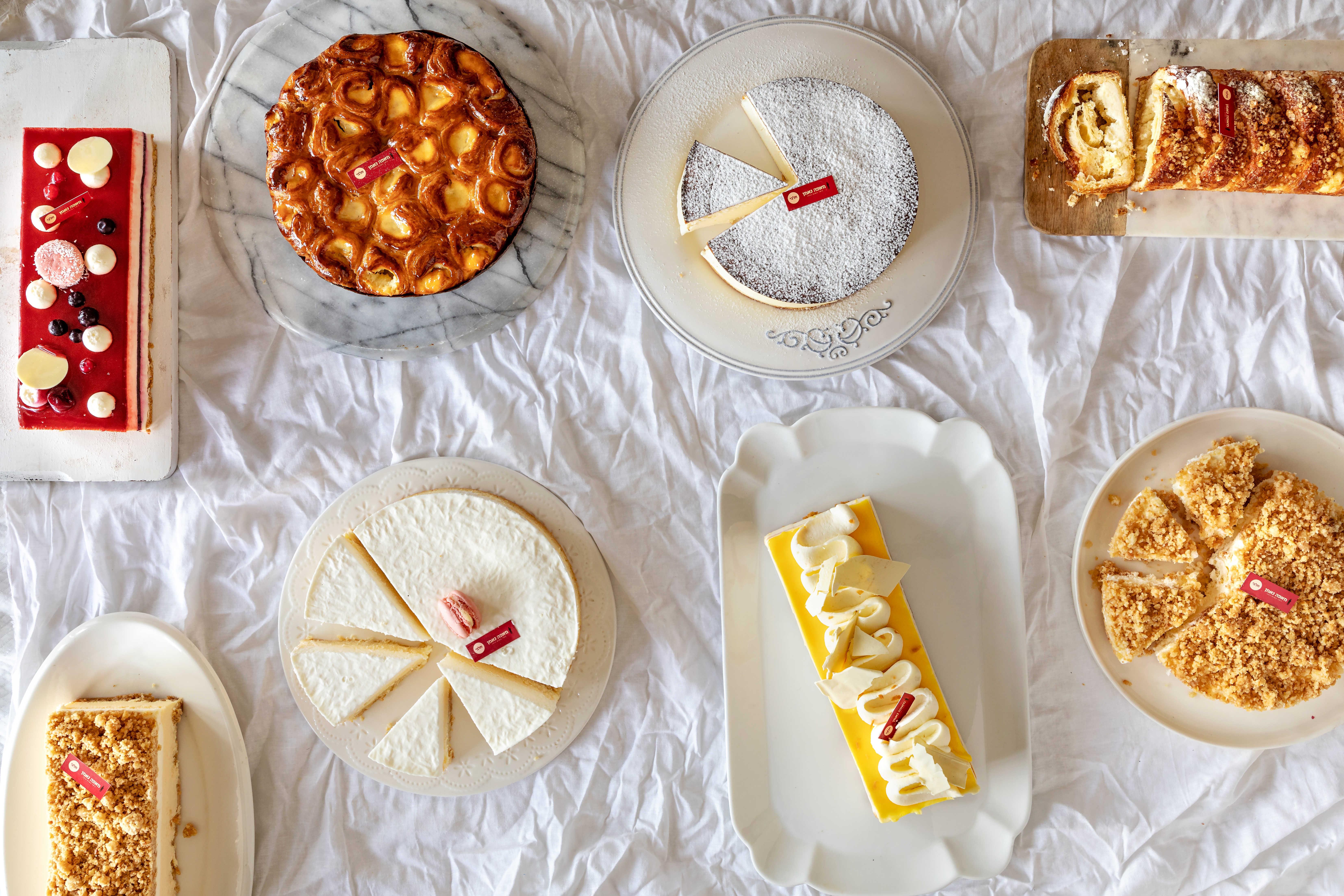 נאמן אופים לך את החג עם ליין חדש ומפתיע של עוגות גבינה