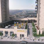 """""""לב השכונה"""": מתחם מסחר ופנאי ייחודי מוקם בימים אלו בירושלים"""