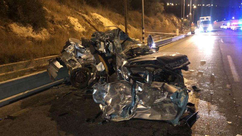 זירת התאונה | צילום דוברות מד