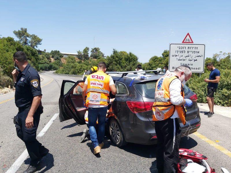 זירת התאונה | דוברות איחוד הצלה